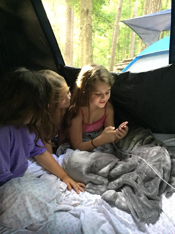 There is free wi-fi for guests that are camping at Stone Mountain.