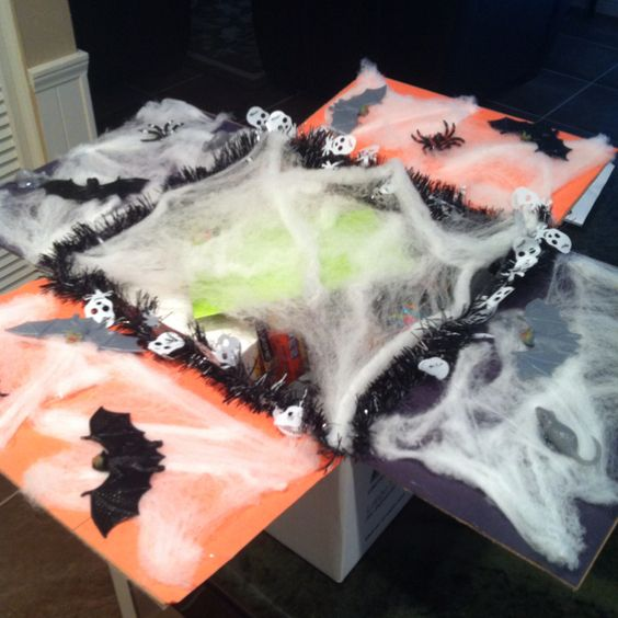 Halloween Care Package Ideas: Spider Webs