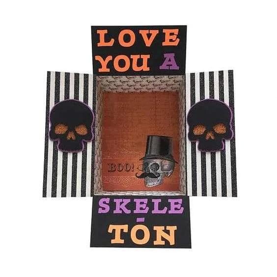 Halloween Care Package Idea: I Love You a Skele-Ton!