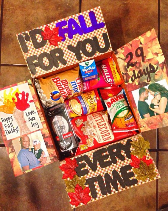 Thanksgiving Care Package Ideas: I'd Fall For You Every Time