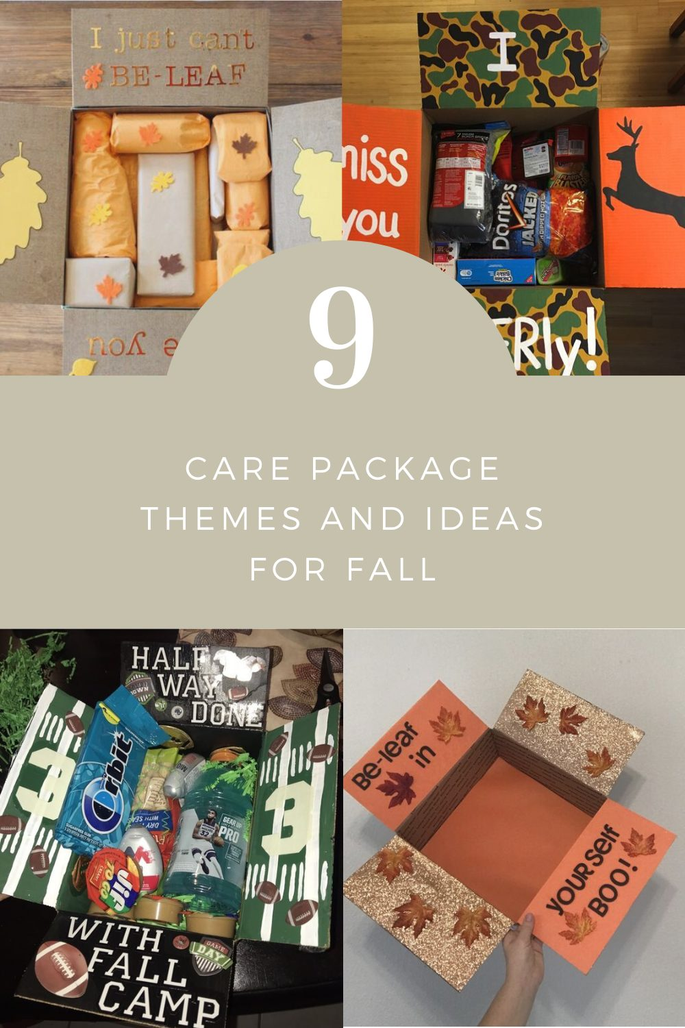 9 Care Package Themes and Ideas for Fall | Finding Mandee