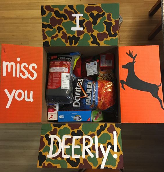 Fall Care Package: I Miss You Deerly