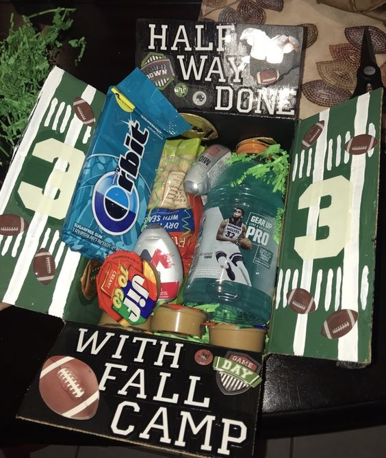Fall Care Package: Football Season