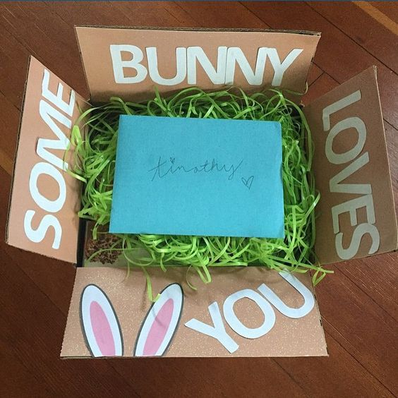 Monthly Care Package Ideas: April
