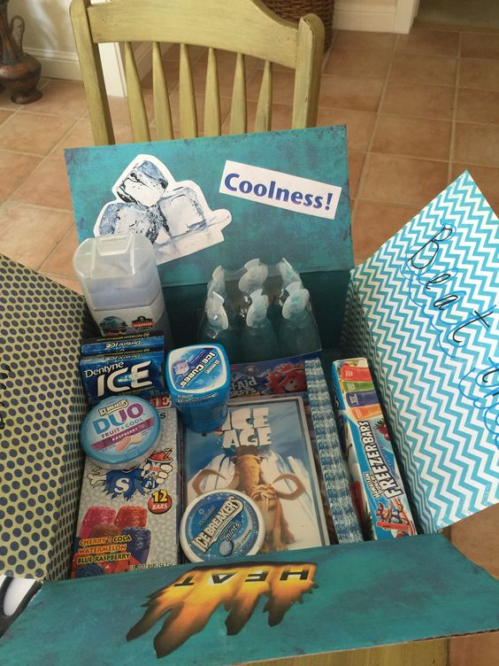 Monthly Care Package Ideas: July