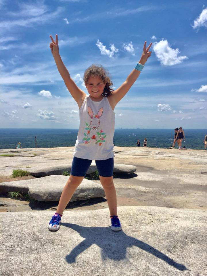 One of the best things to do at Stone Mountain is take in the views from the top!