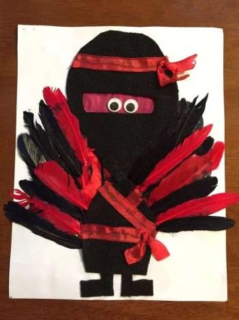 Turkey Disguise: Ninja