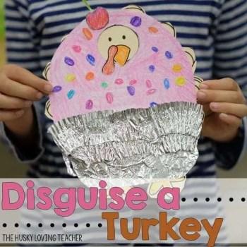 Turkey Disguise: Cupcake