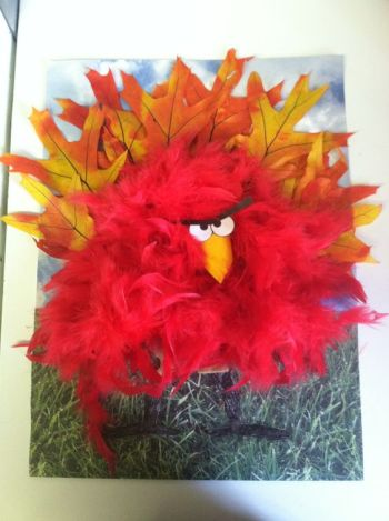 Turkey Disguise: Angry Bird