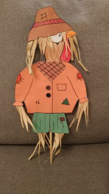 Turkey Disguise: Scarecrow
