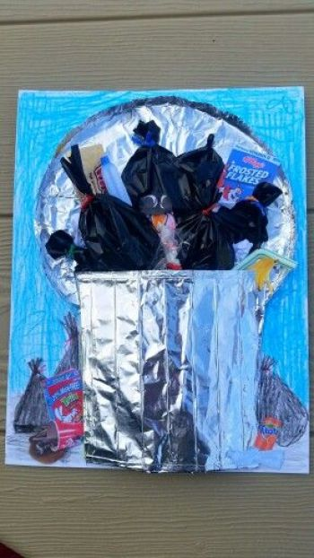 Turkey Disguise: Garbage Can