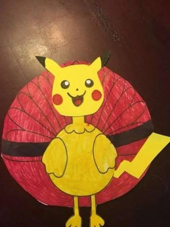 Turkey Disguise: Pikachu