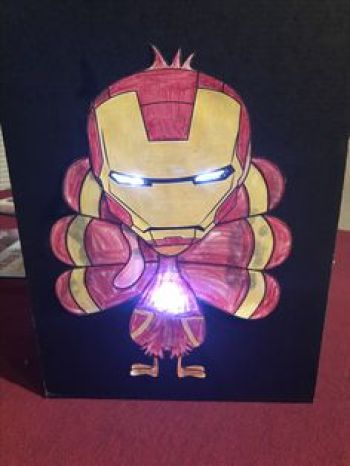 Turkey Disguise: Iron Man