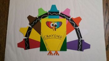 Turkey Disguise: Box of Crayons