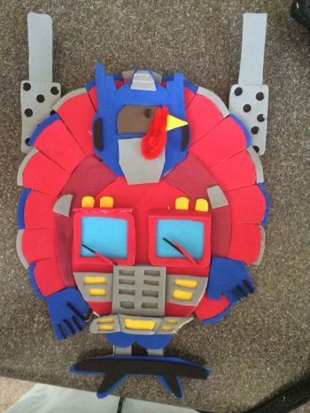 Turkey Disguise: Optimus Prime