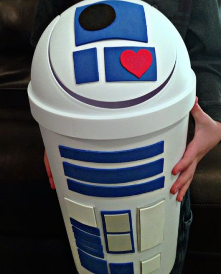 R2D2 Star Wars Valentine Box