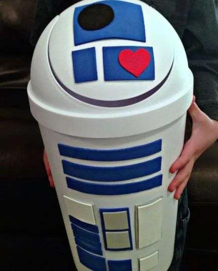 R2D2 Star Wars Valentine Box