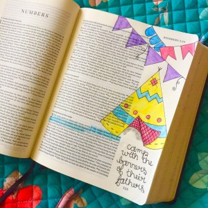 A Peek Inside My Journaling Bible