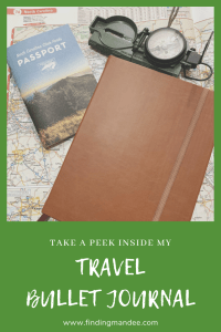 Take a Peek Inside my Travel Bullet Journal | Finding Mandee