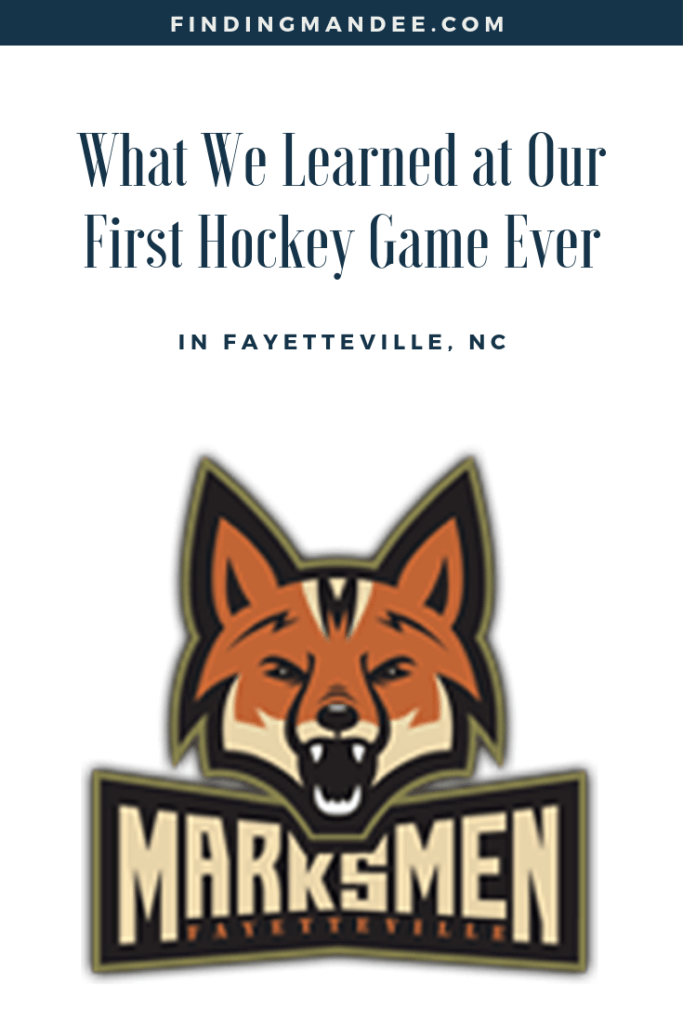 What We Learned at Our First Hockey Game Ever Seeing the Fayetteville Marksmen! | Finding Mandee