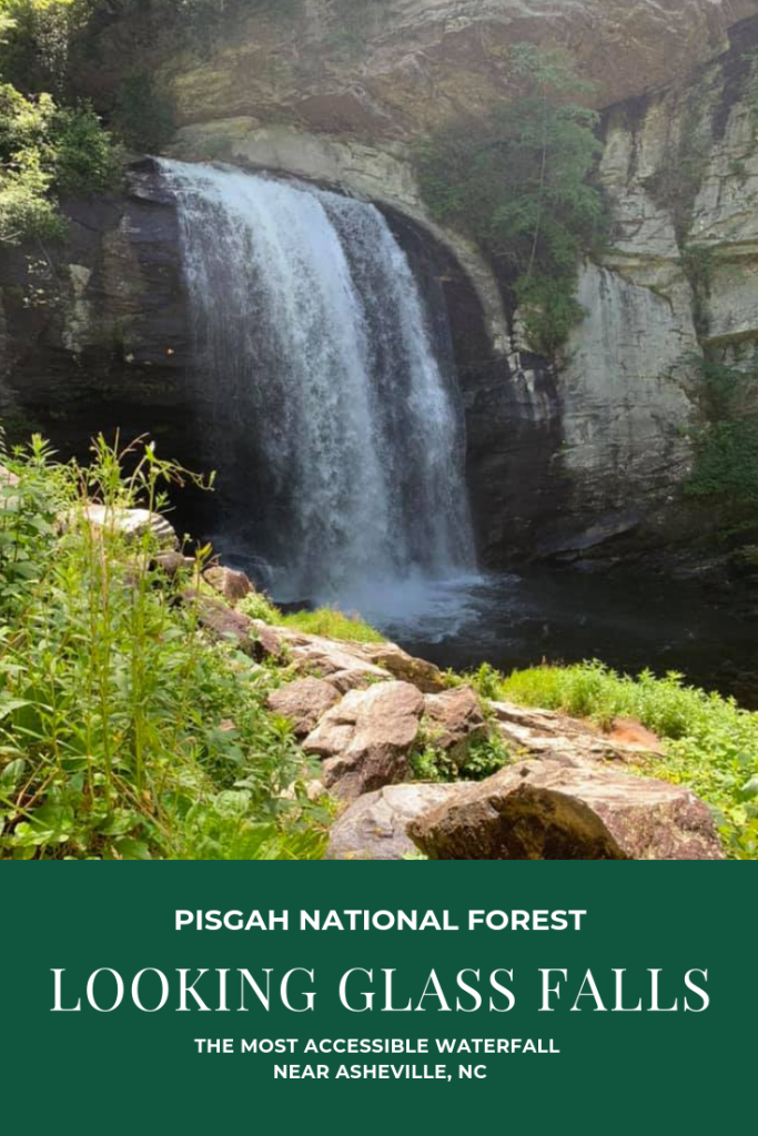 Looking Glass Falls: The Most Accessible Waterfall in NC | Finding Mandee