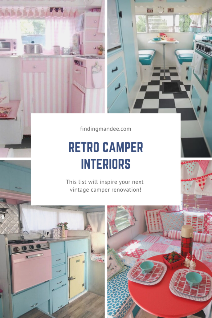 Retro Camper Interior Ideas for your Vintage Camper | Finding Mandee