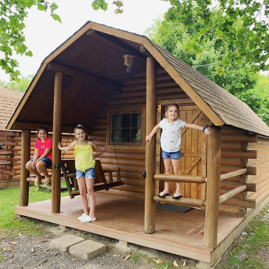 Summer camping in Asheville is the perfect way to spend time with your family!