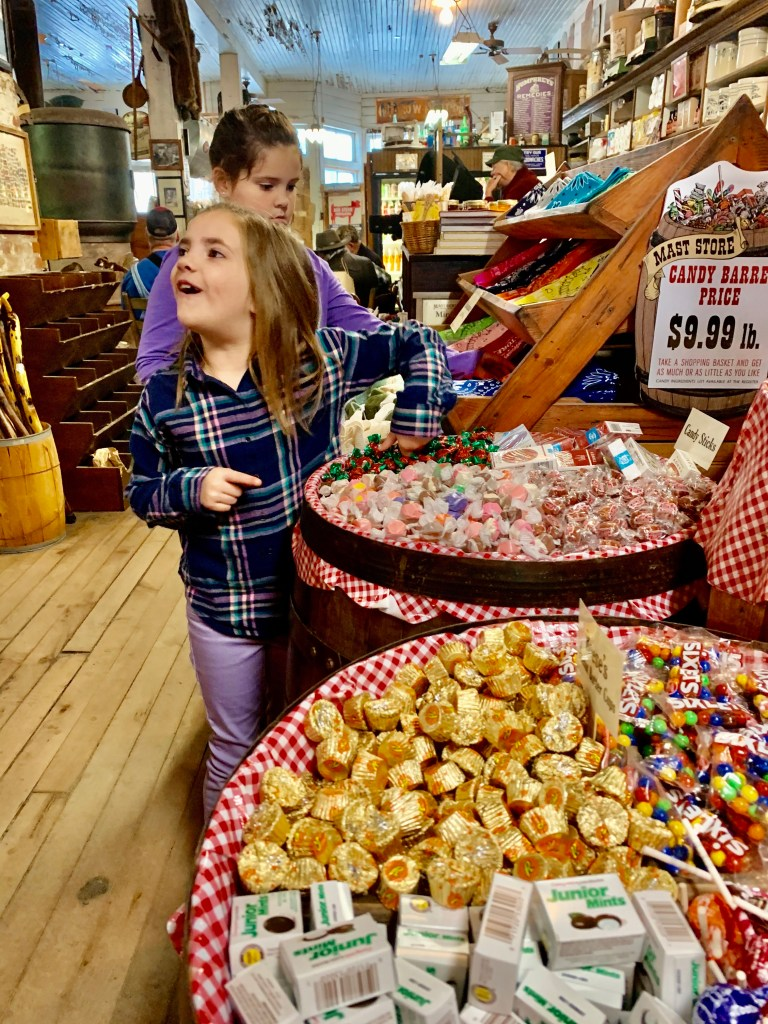 You can't visit Sugar Mountain, North Carolina without getting some candy at Mast General Store!
