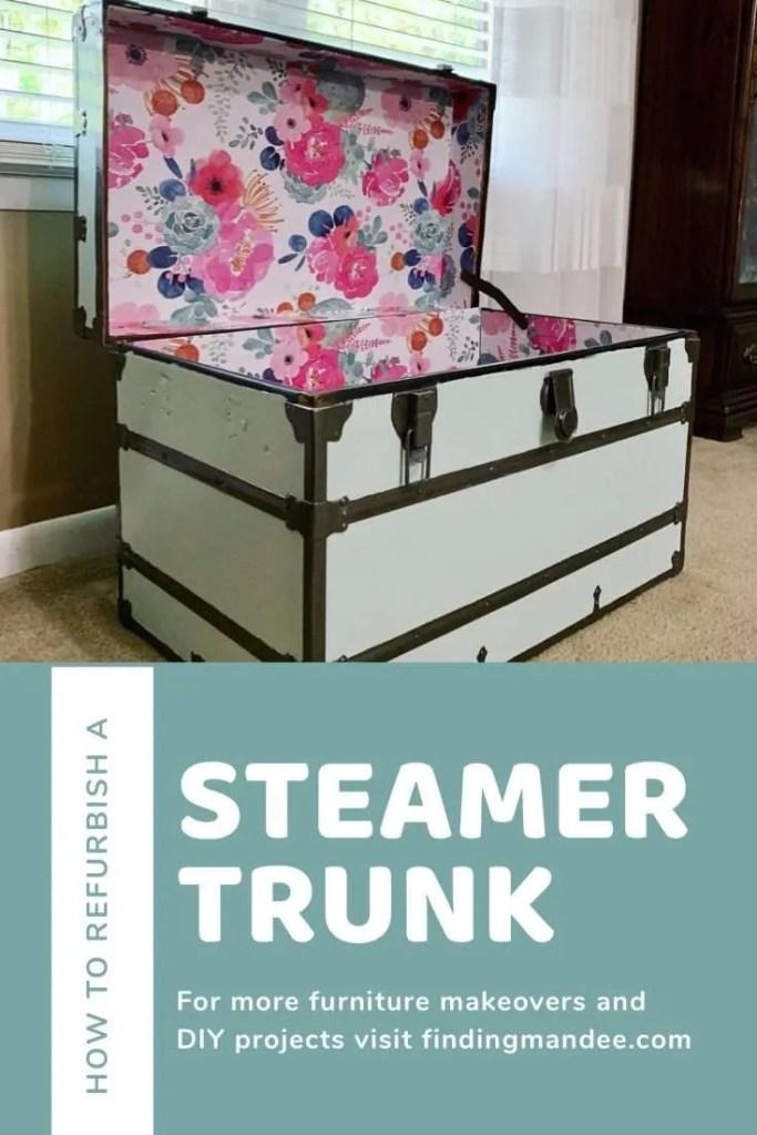 Steamer Trunk DIY Tutorial | Finding Mandee