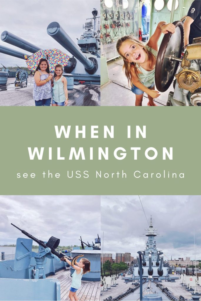 When in Wilmington - See the USS North Carolina | Finding Mandee