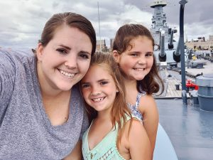 Our visit to Wilmington, NC included a visit to the battleship.
