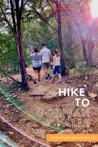 Hike to Gorman Falls in Colorado Bend State Park   Finding Mandee