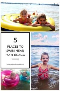 5 Places to Swim Near Fort Bragg, North Carolina | Finding Mandee