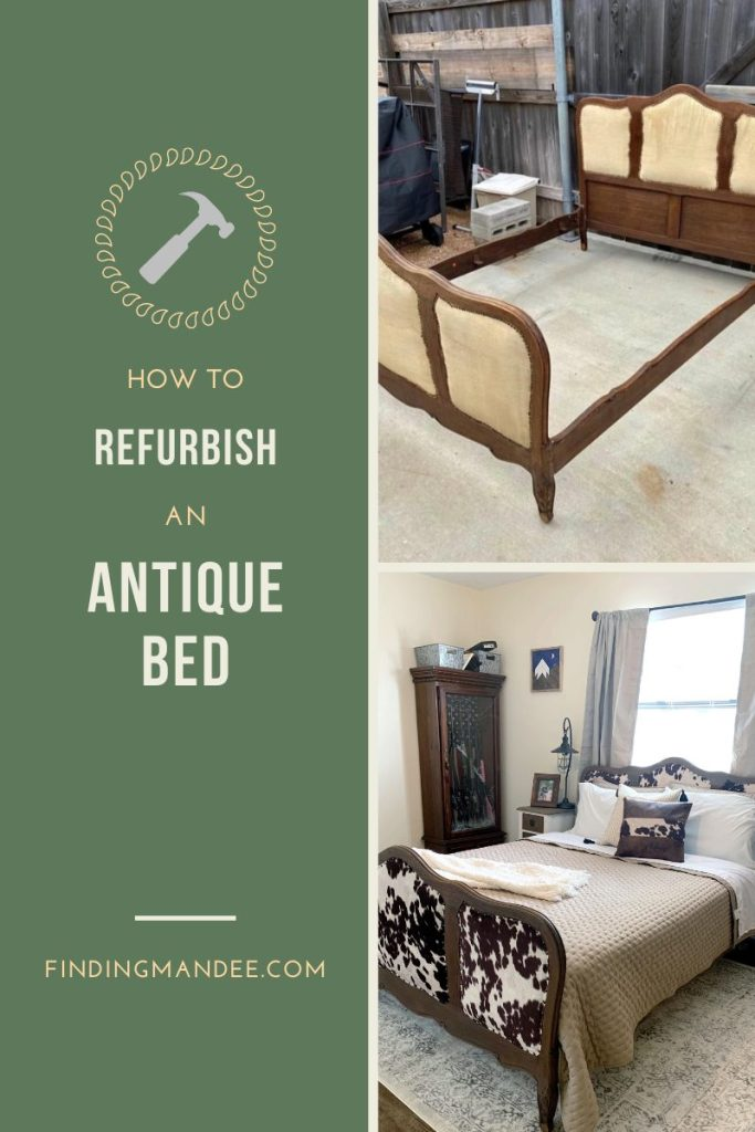 How to Refurbish and Antique Bed | Finding Mandee