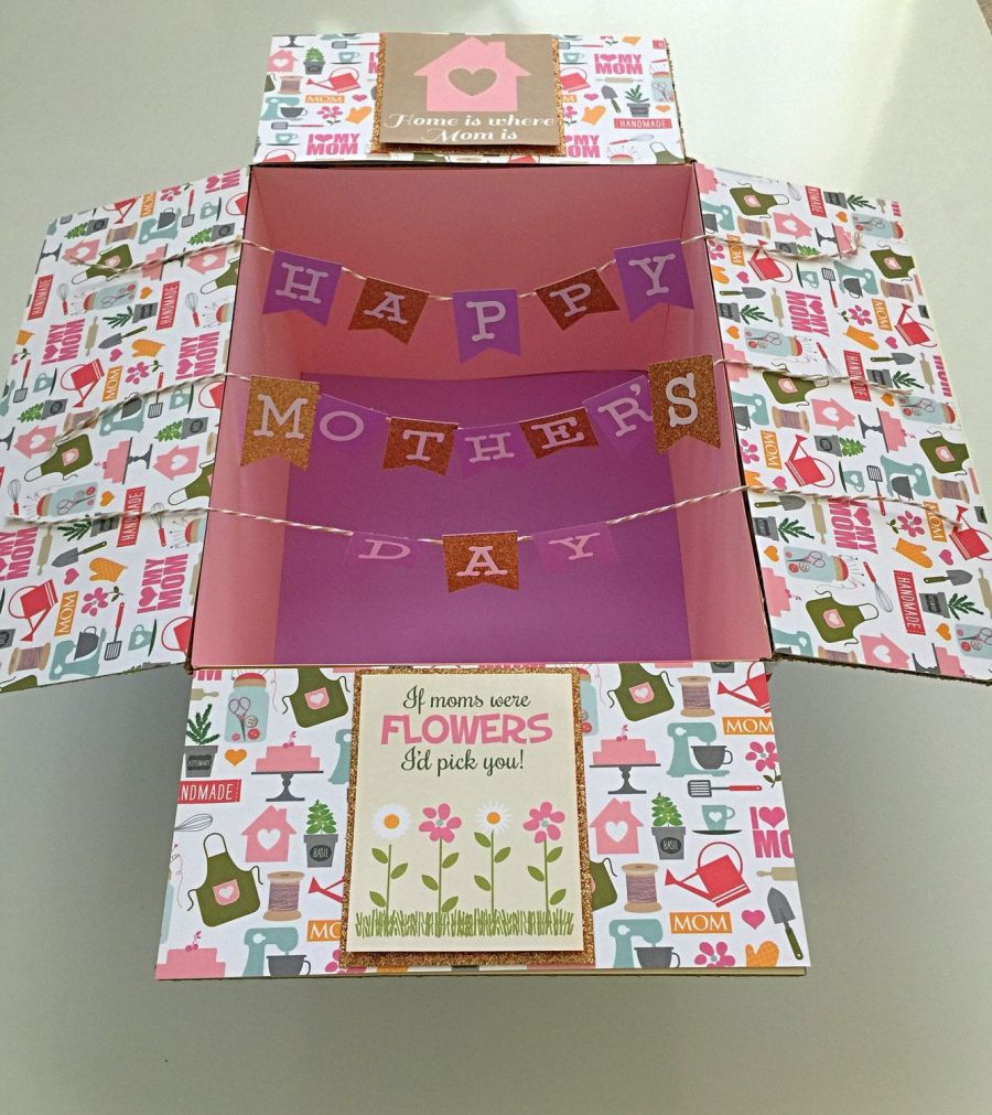 Home is where your mom is: Mother's Day Care package idea