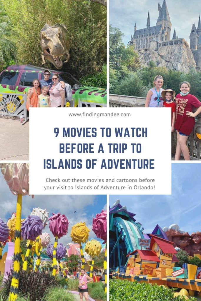 9 Movies to Watch Before a Trip to Islands of Adventure | Finding Mandee