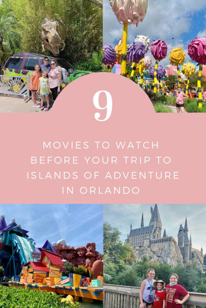 9 Movies to Watch Before Your Trip to Islands of Adventure in Orlando, FL | Finding Mandee