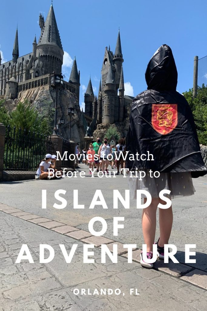 Movies to Watch Before Your Trip to Islands of Adventure | Finding Mandee