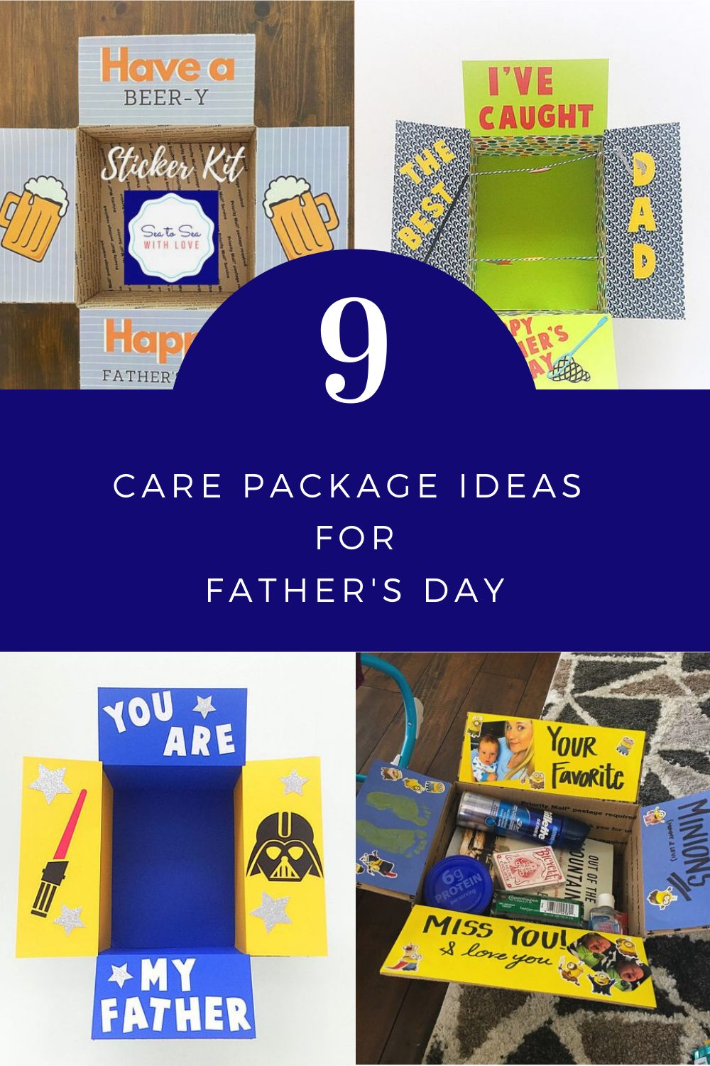 9 Care Package Ideas for Father's Day | Finding Mandee