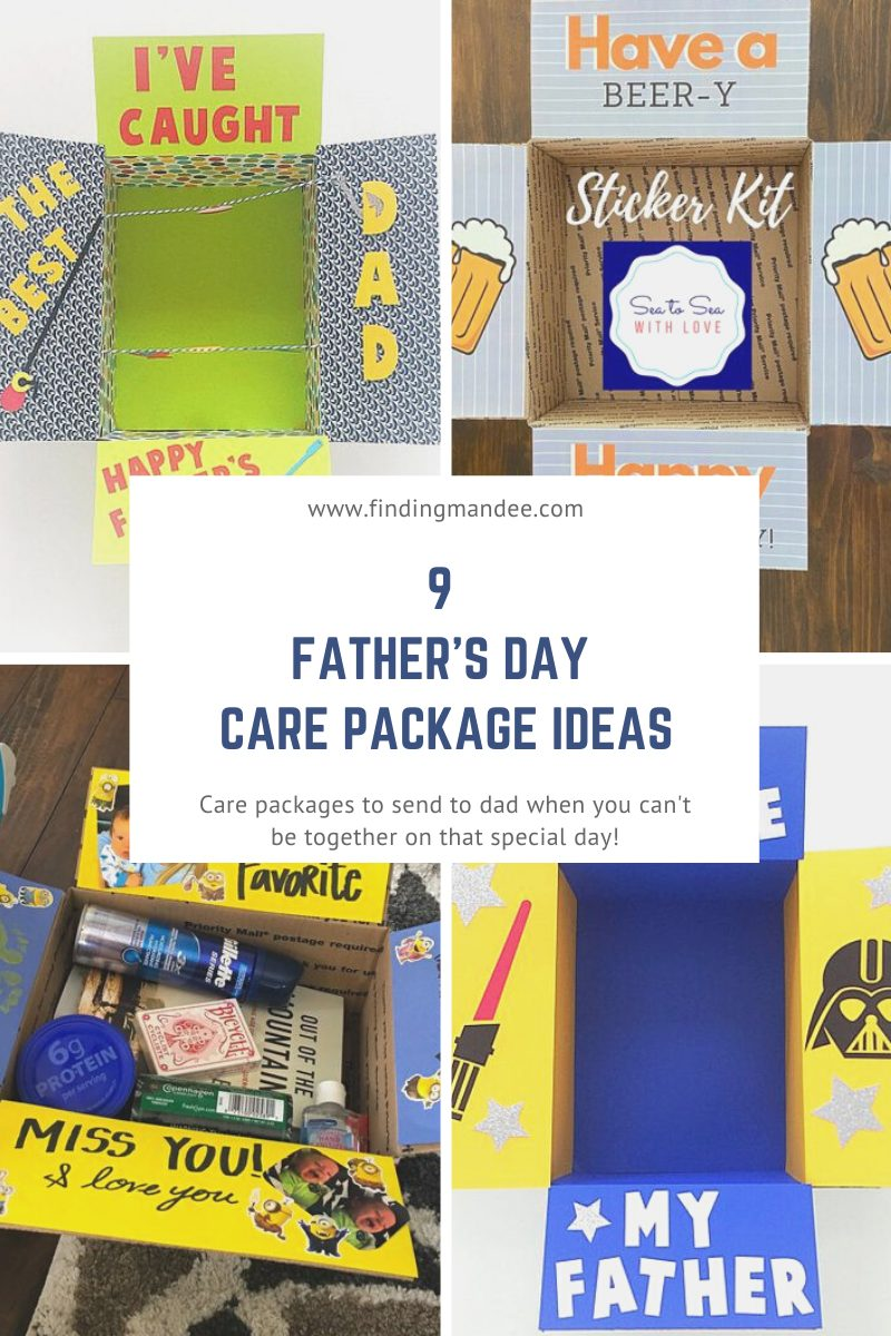 9 Father's Day Care Package Ideas | Finding Mandee