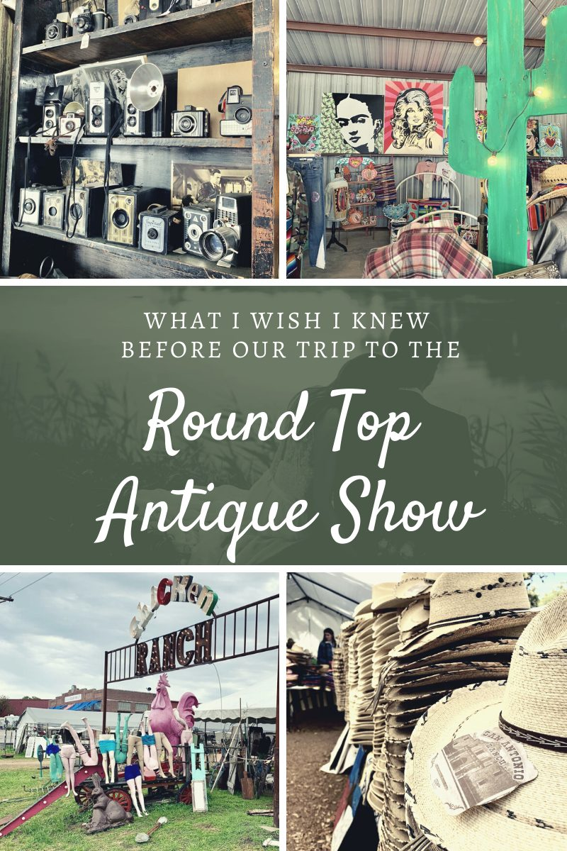 What I Wish I Knew Before Our Trip to the Round Top Antique Show | Finding Mandee