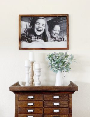 How to make your own DIY Smallwoods large prints.