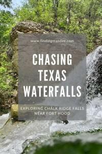Chasing Texas Waterfalls: Hiking and Swimming at Chalk Ridge Falls Near Fort Hood | Finding Mandee
