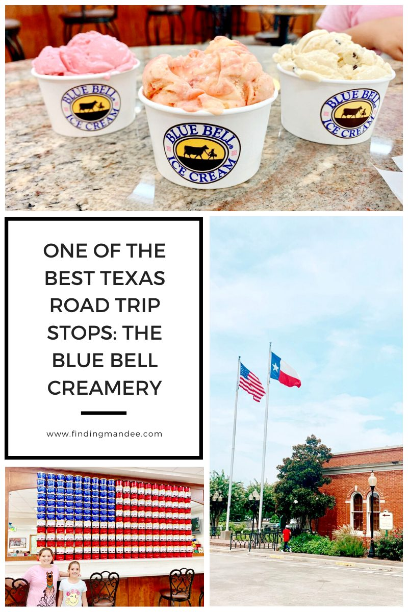 One of the Best Texas Road Trip Stops: the Blue Bell Creamery | Finding Mandee