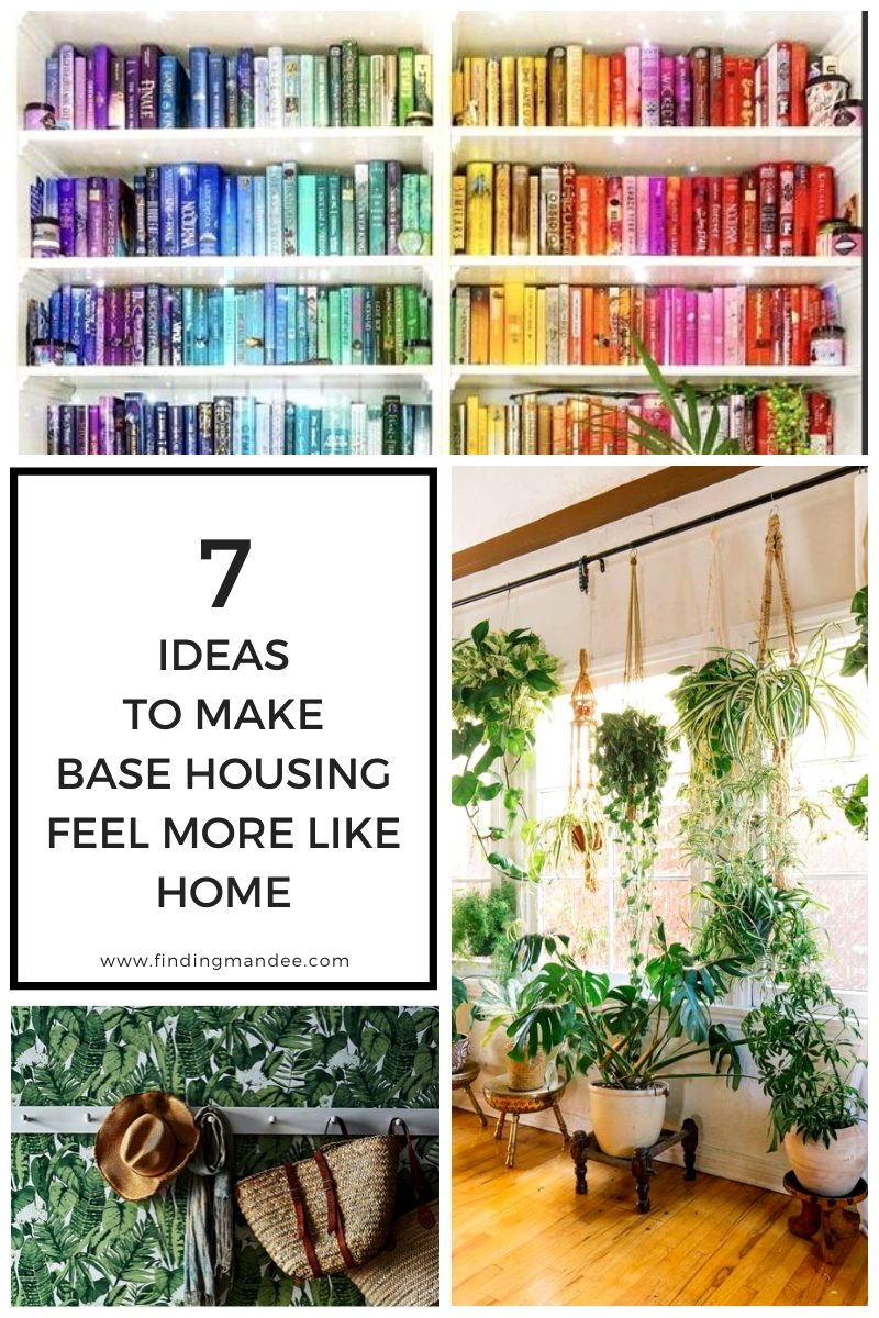 7 Ideas to Spruce Up the White Walls of Military Base Housing   Finding Mandee