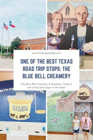 One of the Best Texas Road Trip Stops: The Blue Bell Creamery   Finding Mandee