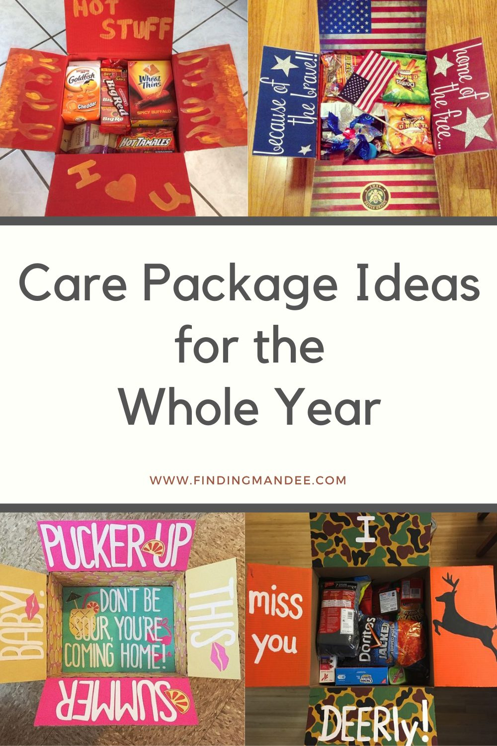 Monthly Care Package Ideas