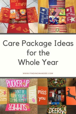 Care Package Ideas for the Whole Year   Finding Mandee