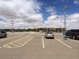 Isleta Pueblo Rail Runner station