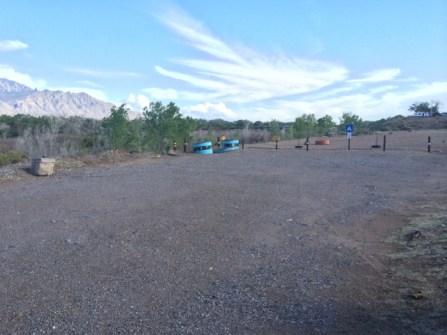 Kayak launch area